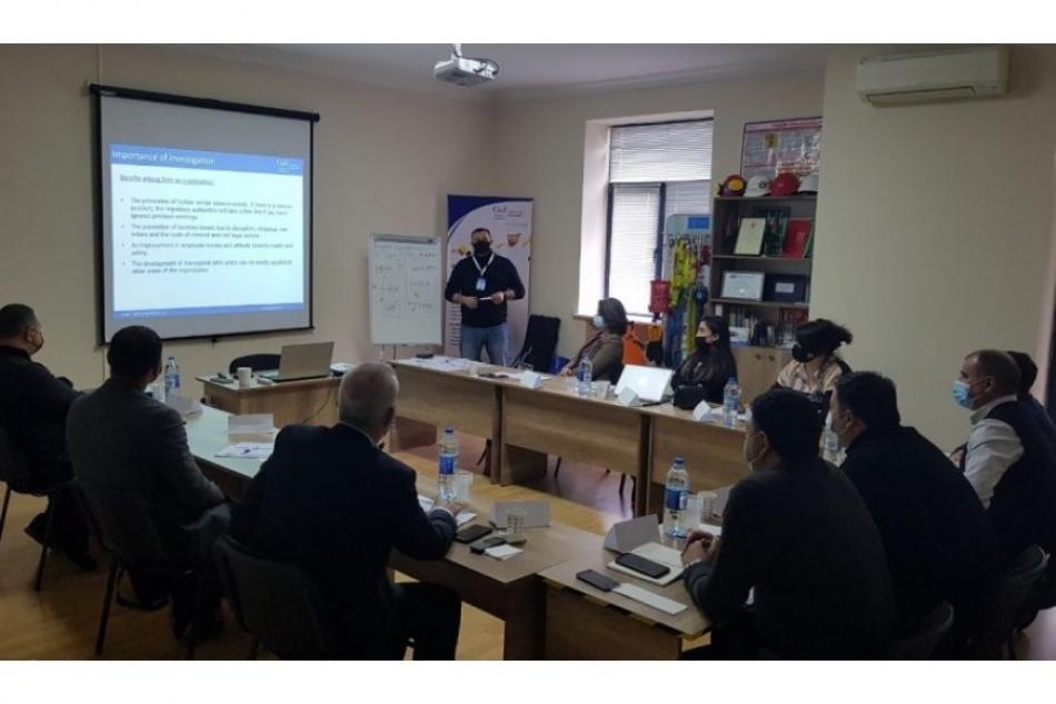 Сотрудники ASCO прошли тренинг «Расследованин и анализ коренных причин инцидентов/происшествий»