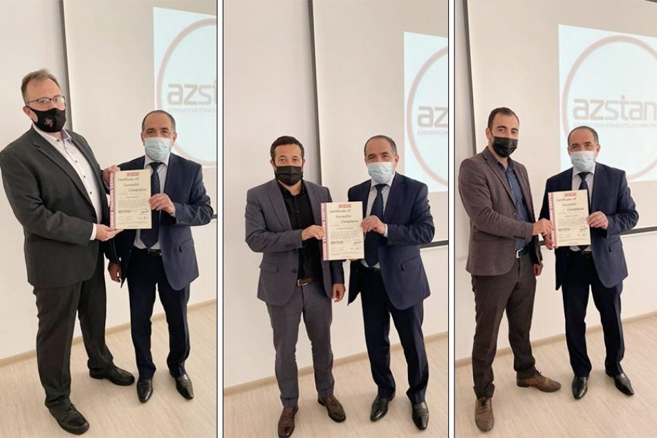 ASCO-nun əməkdaşları beynəlxalq sertifikat əldə ediblər