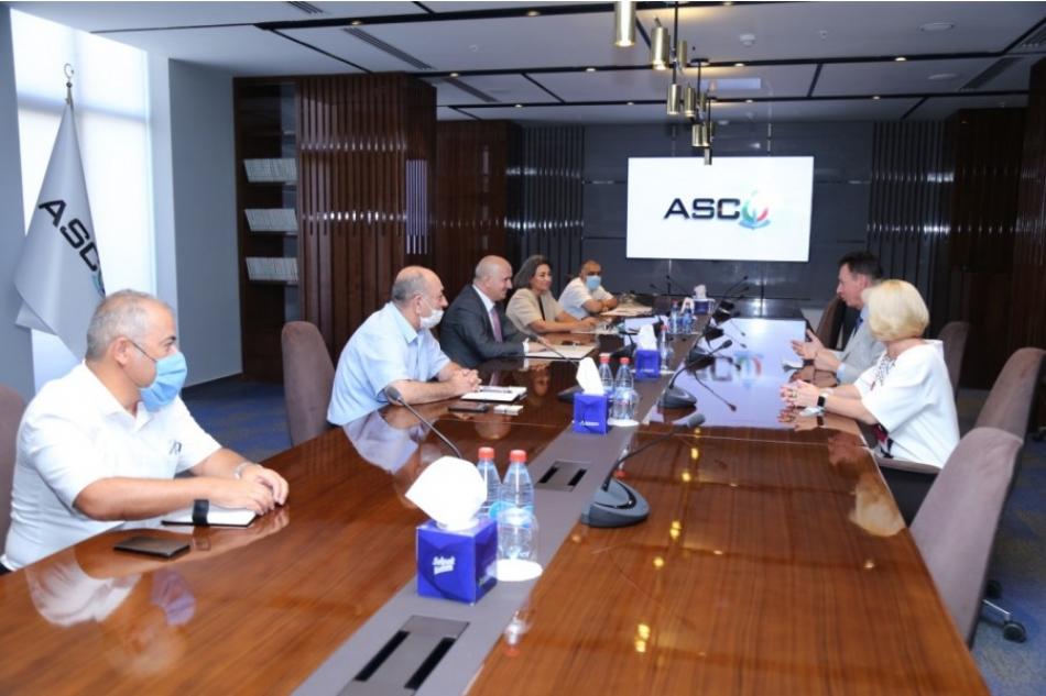 ASCO-da Rusiyanın nüfuzlu dənizçilik təhsili müəssisəsinin rektoru ilə görüş keçirilib